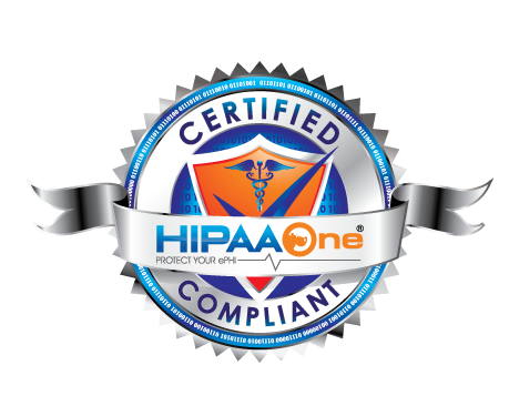 HIPAA One� Certified Seal